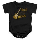Jeff Beck That Yellow Guitar Baby Onesie T-Shirt Black
