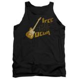 Jeff Beck That Yellow Guitar Adult Tank Top T-Shirt Black