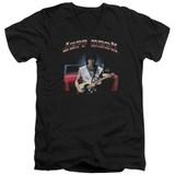Jeff Beck Jeff's Hotrod Adult V-Neck T-Shirt Black