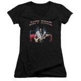 Jeff Beck Jeff's Hotrod Junior Women's V-Neck T-Shirt Black