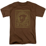 Thelonious Monk The Unique S/S Adult 18/1 T-Shirt Coffee