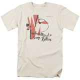 Thelonious Monk Sonny Rollins S/S Adult 18/1 T-Shirt Cream