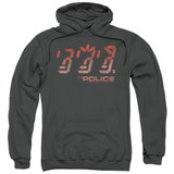 The Police Ghost In The Machine Adult Pullover Hoodie Sweatshirt Charcoal