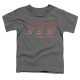 The Police Ghost In The Machine S/S Toddler T-Shirt Charcoal