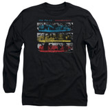 The Police Syncronicity Long Sleeve Adult 18/1 T-Shirt Black