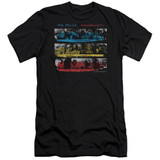 The Police Syncronicity Premium S/S Adult 30/1 T-Shirt Black