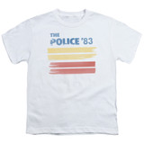 The Police 83 S/S Youth 18/1 T-Shirt White