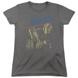 The Police Japanese Poster S/S Women's T-Shirt Charcoal