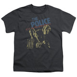 The Police Japanese Poster S/S Youth 18/1 T-Shirt Charcoal