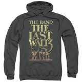 The Band The Last Waltz Adult Pullover Hoodie Sweatshirt Charcoal
