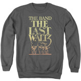 The Band The Last Waltz Adult Crewneck Sweatshirt Charcoal