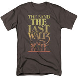 The Band The Last Waltz S/S Adult 18/1 T-Shirt Charcoal