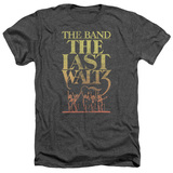The Band The Last Waltz Adult Heather T-Shirt Charcoal