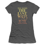 The Band The Last Waltz S/S Junior Women's T-Shirt Sheer Charcoal