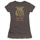 The Band The Last Waltz Premium S/S Junior Women's T-Shirt Sheer Charcoal