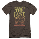 The Band The Last Waltz Premium S/S Adult 30/1 T-Shirt Charcoal