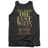 The Band The Last Waltz Adult Tank Top Charcoal