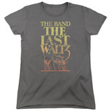 The Band The Last Waltz S/S Women's T-Shirt Charcoal
