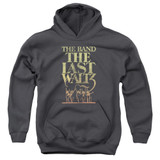 The Band The Last Waltz Youth Pullover Hoodie Sweatshirt Charcoal