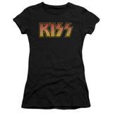 Kiss Classic Junior Women's Sheer T-Shirt Black