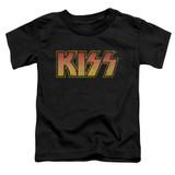 Kiss Classic Toddler T-Shirt Black
