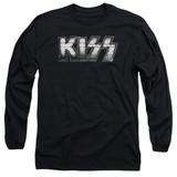 Kiss Heavy Metal Adult Long Sleeve T-Shirt Black