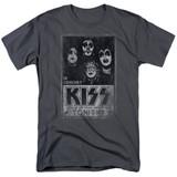 Kiss Live Adult 18/1 T-Shirt Charcoal