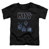 Kiss Creatures Of The Night Toddler T-Shirt Black