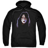 Kiss Ace Frehley Cover Adult Pullover Hoodie Sweatshirt Black