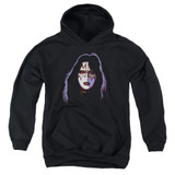 Kiss Ace Frehley Cover Youth Pullover Hoodie Sweatshirt Black
