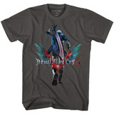Devil May Cry Neroback Smoke Adult T-Shirt