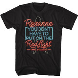 The Police Neon Roxanne Black Adult T-Shirt