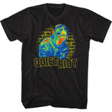 Quiet Riot Thermal Riot Black Adult T-Shirt