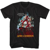 Army of Darkness Logo Black Adult T-Shirt