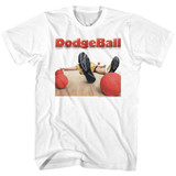 Dodgeball Movie Poster White Adult T-Shirt