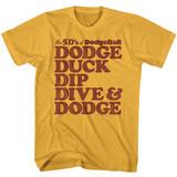 Dodgeball Five D's Ginger Adult T-Shirt