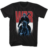 Planet of the Apes War Black Adult T-Shirt