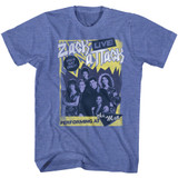 Saved By The Bell Zack Attack Live Classic Royal Heather Adult T-Shirt