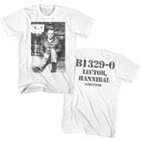 Silence Of The Lambs B1329-0 White Adult T-Shirt