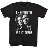 X-Files The Truth Black Adult T-Shirt