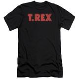 T. Rex Logo S/S Adult 30/1 T-Shirt Black