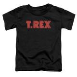 T. Rex Logo S/S Toddler T-Shirt Black