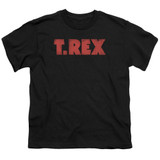 T. Rex Logo S/S Youth 18/1 T-Shirt Black
