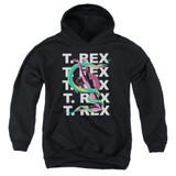 T. Rex Snake Youth Pullover Hoodie Sweatshirt Black