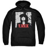 T. Rex The Slider Adult Pullover Hoodie Sweatshirt Black