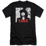 T. Rex The Slider Premuim Canvas Adult Slim Fit 30/1 T-Shirt Black