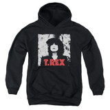 T. Rex The Slider Youth Pullover Hoodie Sweatshirt Black