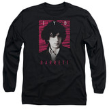 Syd Barrett Pink Floyd Syd Long Sleeve Adult 18/1 T-Shirt Black
