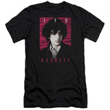 Syd Barrett Pink Floyd Syd Premium Canvas Adult Slim Fit 30/1 T-Shirt Black