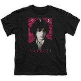 Syd Barrett Pink Floyd Syd S/S Youth 18/1 T-Shirt Black
